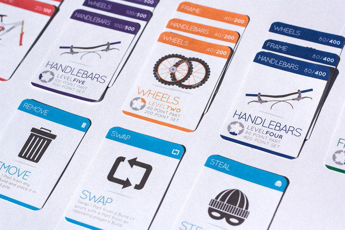Build Your Bike Card Game